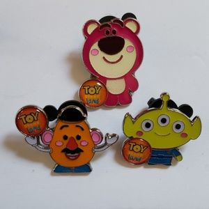 🌟Disney Parks Toy Story Land Booster 3  CUTE PINS